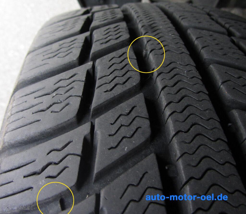 Reifen Verschleissanzeige TWI