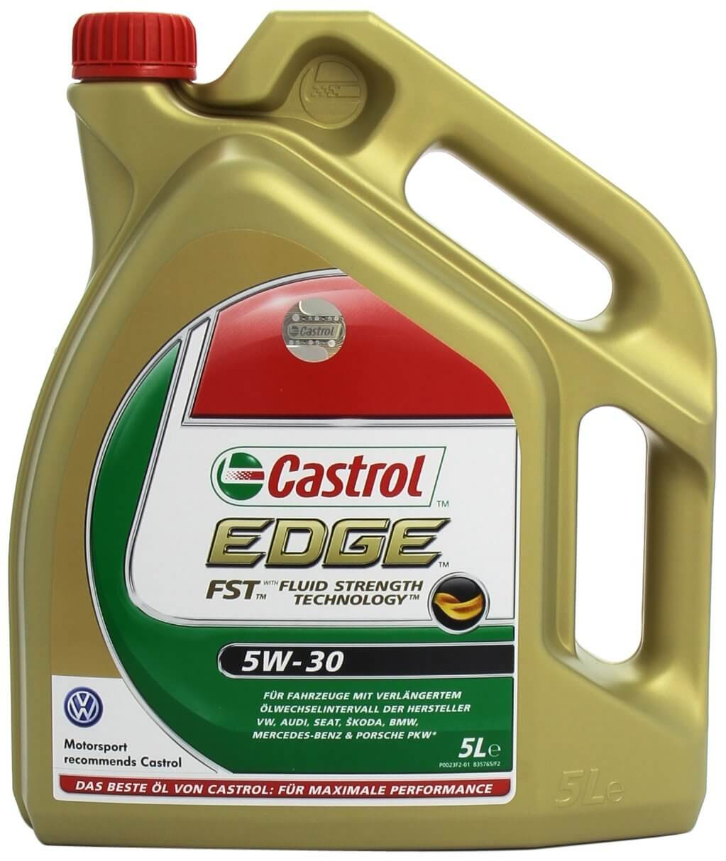 castrol edge fst 5w 30 test auto motor l. Black Bedroom Furniture Sets. Home Design Ideas