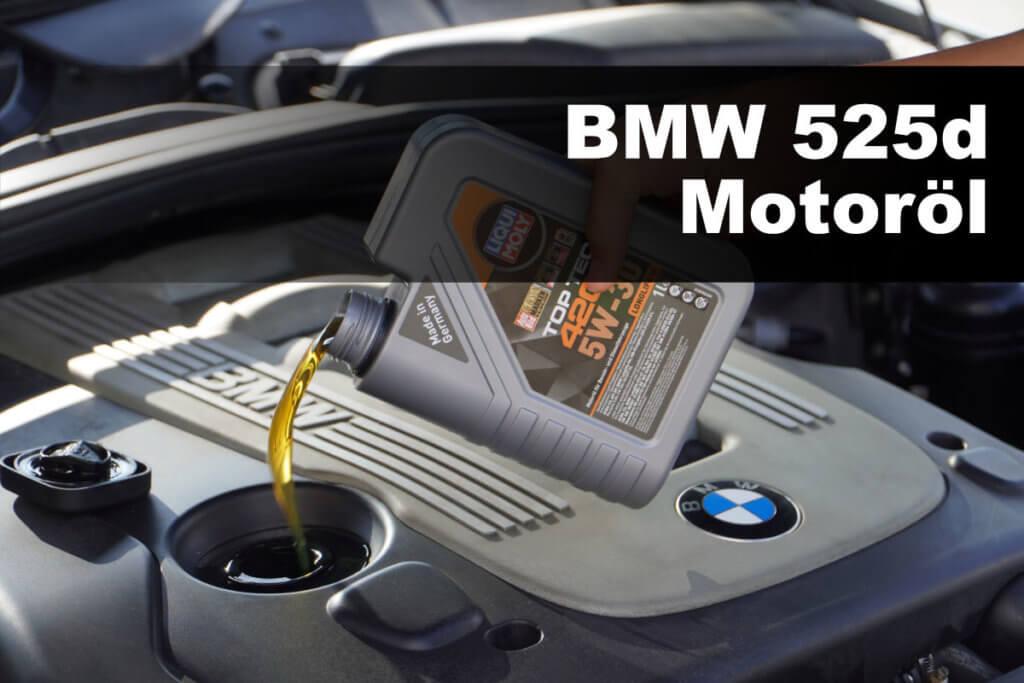 BMW 525d Motoröl